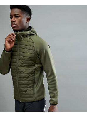 Core-Performance-Multi-Green-Padded-Jacket
