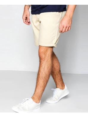 Cotton-Fleece-Stone-Plain-Chino-Shorts