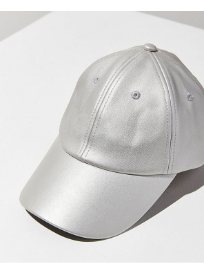 Faux-Leather-Baseball-Hat