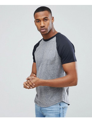 Gym-Slim-Fit-Men-Baseball-Raglan-in-Grey-T-Shirt