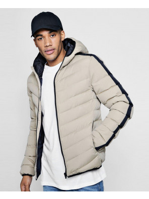 Hooded-Contrast-Panel-Padded-Jacket