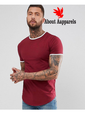 Hot-Selling-Men-Fashionable-Muscle-Ringer-T-Shirt-In-Burgundy