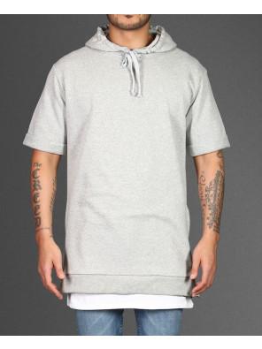 Longline-Grey-With-Side-Zipper-Men-Hoodie