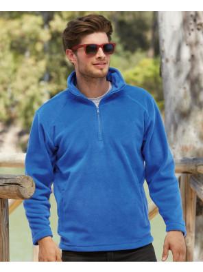 Men-Fashionable-Half-Zipper-Outdoor-Fleece-Jacket