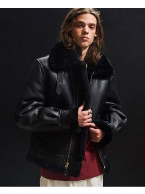 Men-Fur-Sheepskin-Bomber-Leather-Jacket