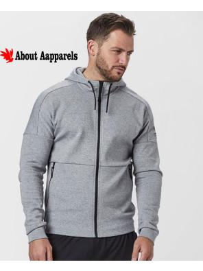 Men-Grey-Full-Zipper-Hoodie