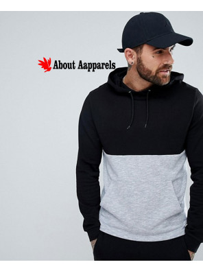 Men-Pullover-Gym-Hoodie-With-Nep-Panel