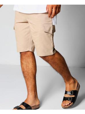 Men-Slim-Fit-Cargo-Shorts