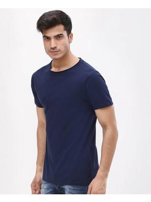 Navy-Blur-Short-Sleeve-Slim-Fit-Crew-Neck-T-Shirt