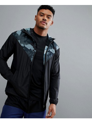 New-Look-Sport-Windbreaker-Jacket-With-Camo-Panel-And-Hood-In-Black