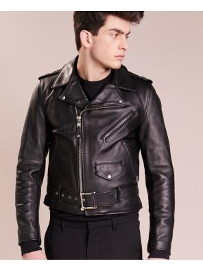 New-Men-Biker-Stylish-Leather-Jacket