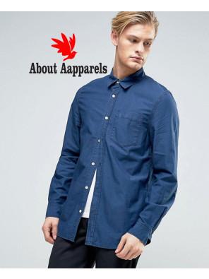 New-Stylish-Class-Denim-Shirt-BlueNew-Stylish-Class-Denim-Shirt-Blue