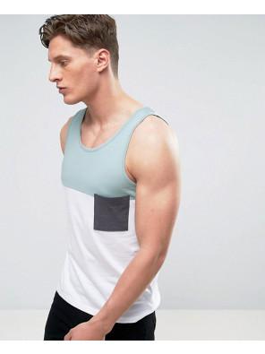 New-Stylish-Men-Colour-Block-Vest-Tank-Top