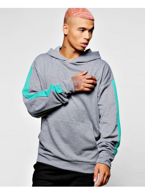 Pullover-Oversized-Hoodie-With-Side-Panel