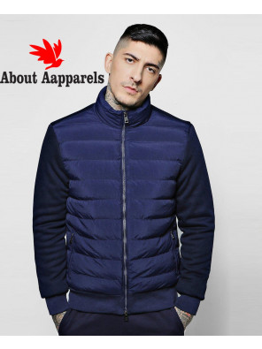 Quilted-Funnel-Neck-Jacket