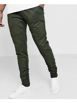 Skinny-Fit-Ruched-Jogger-With-Side-Zipper-Sweatpant