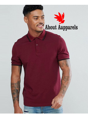 Slim-Fit-Twin-Tipped-Polo-Shirt-In-Burgundy-AA-823-(1)