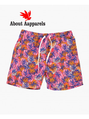 Sublimation-Men-Custom-Tropical-Print-Swim-Shorts