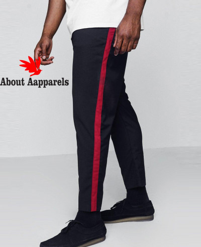Big-And-Tall-Cropped-Tape-Detail-Trouser