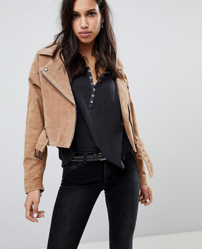 Blank-Suede-Biker-Leather-Jacket