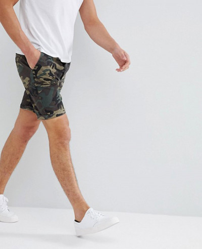 Chino-Shorts-With-Camo-Print