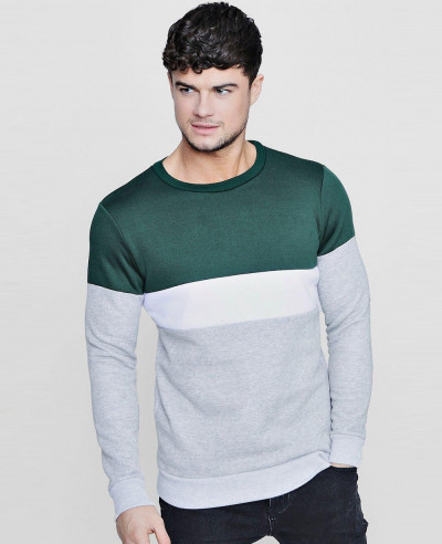 Colour-Block-Panelled-Crew-Neck-Sweater