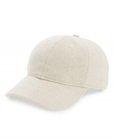 Cotton-&-Linen-Baseball-Cap