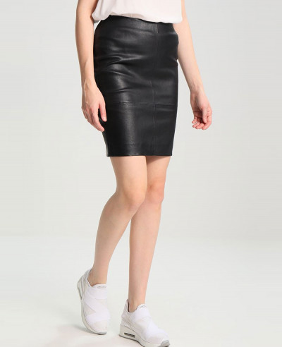 Fashion-Leather-Skirt