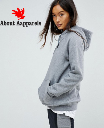 Fashion-Online-Pullover-Hoodie-In-Grey