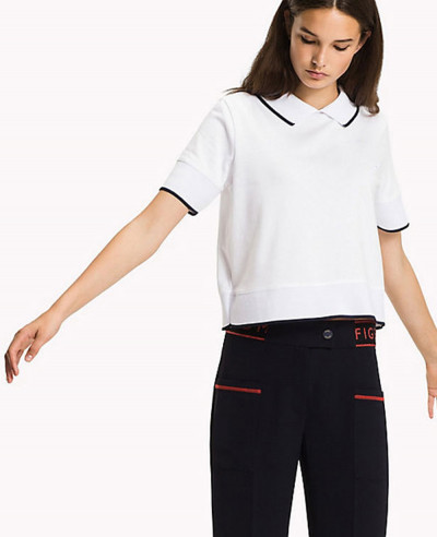 Fitted-Fashion-Stripe-Polo-Shirt