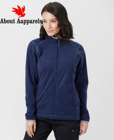 Full-YKK-Zipper-Navy-Blue-Polar-Fleece-Jacket