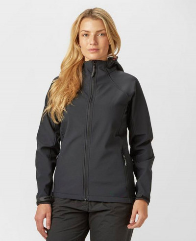 High-Quality-Fashion-Black-Hooded-Softshell-Jacket