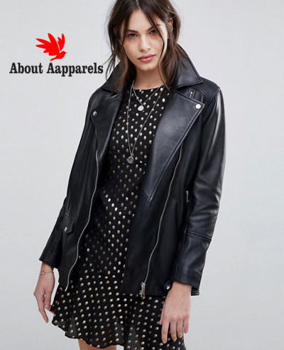 High-Quality-Longline-Leather-Jacket-With-Belt
