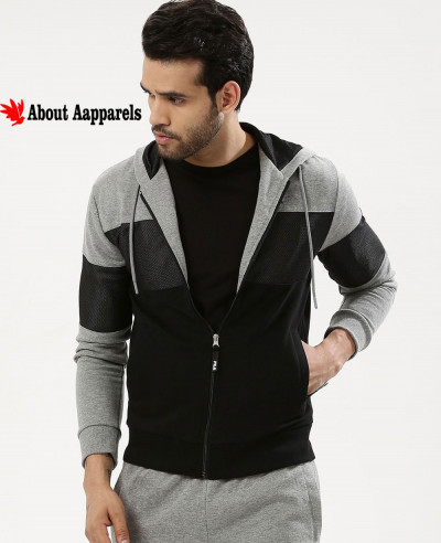High-Quality-Men-Colour-Block-Mesh-Hoodie