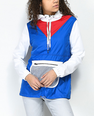 High-Quialty-Fashion-Mesh-Anorak-Windbreaker-Jacket