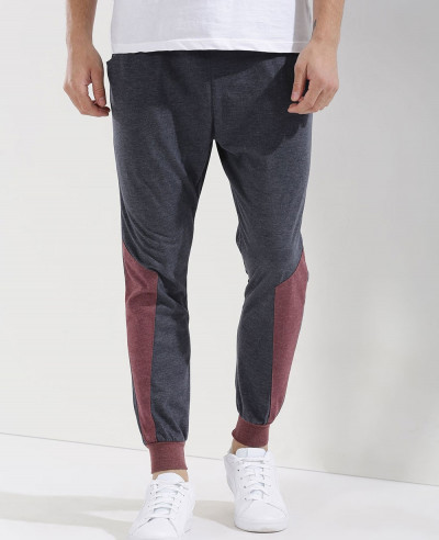 Hot-Selling-Men-Contrast-Panel-Sweatpant-Jogger