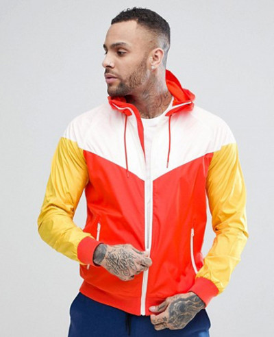 Hot-Selling-Men-Custom-Stylish-Windrunner-Jacket-In-Orange