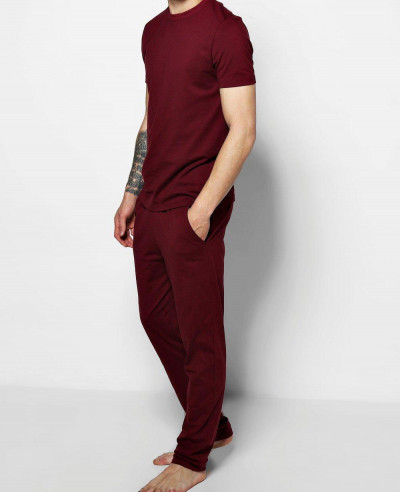 Hot-Selling-Men-Jersey-Trouser-Pyjama-Set
