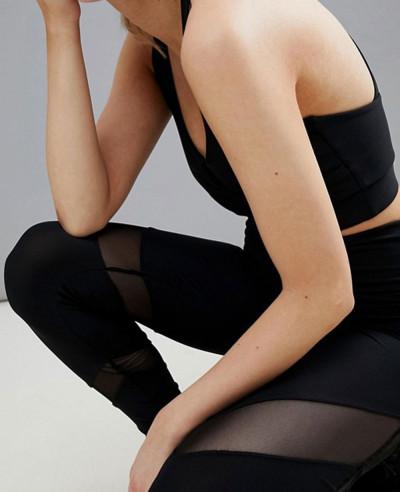 Hot-Selling-Women-fashion-Beach-Mesh-Insert-Tight-Leggings