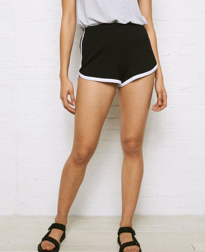Hot-Selling-Women-Fashion-Black-Short