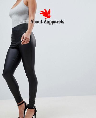 Leather-Look-Leggings-With-Elastic-Slim-Fting-Waist