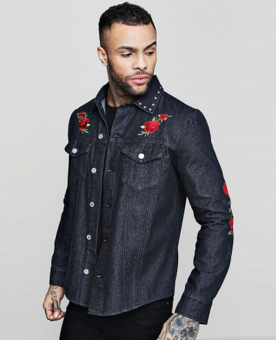 Long-Sleeve-Rose-Embroidered-Denim-Shacket