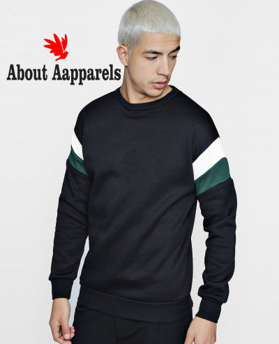 Men-Arem-Colour-Block-Fleece-Panelled-Sweater-Sweatshirt