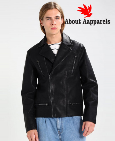 Men-Biker-Hot-Selling-Faux-Real-Leather-Jacket