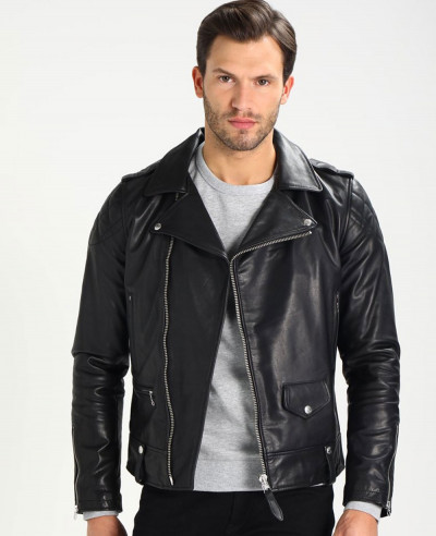 Men-Biker-Sheep-Leather-Jacket