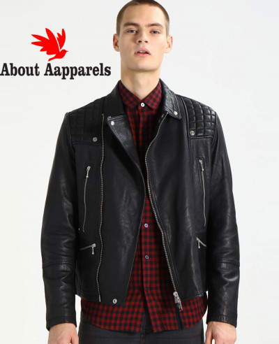 Men-Biker-Sheep-Real-Leather-Jacket