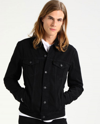 Men-Black-Hot-Selling-Custom-Denim-Jacket