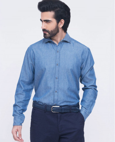Men-Blue-Denim-Shirts