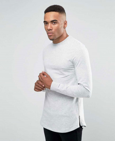 About-Apparels-Casual-Longline-With-Side-Zipper-&-Curved-Hem