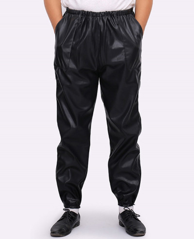 Men-Fashion-Zipper-Faux-Leather-Long-Jogger-Pants